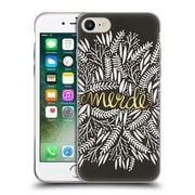 Official Cat Coquillette Quotes Typography 4 Merde Black Gold Soft Gel Case For Apple Iphone 7
