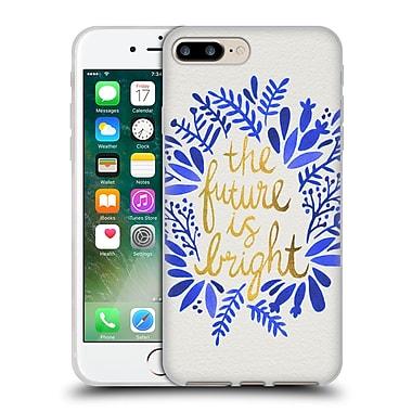 Official Cat Coquillette Quotes Typography 1 Future Is Bright Gold Soft Gel Case For Apple Iphone 7 Plus