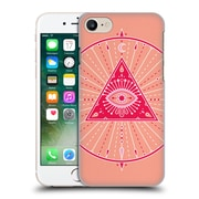Official Cat Coquillette Mandala Evil Eye Pink Hard Back Case For Apple Iphone 7