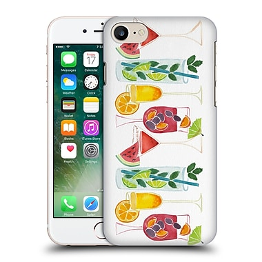 Official Cat Coquillette Mixed Drinks Summer Drinks Hard Back Case For Apple Iphone 7