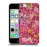 Official Celandine Tropical Pattern Stand Out Calmer Red Hard Back Case For Apple Iphone 5C
