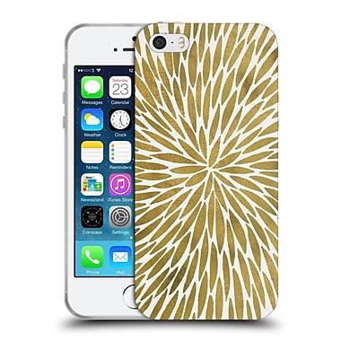 Official Cat Coquillette Mandala Burst Gold Soft Gel Case For Apple Iphone 5 / 5S / Se