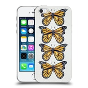 Official Cat Coquillette Insects Orange Butterfly Soft Gel Case For Apple Iphone 5 / 5S / Se