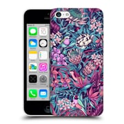 Official Celandine Tropical Pattern Stand Out Electric Blue Hard Back Case For Apple Iphone 5C