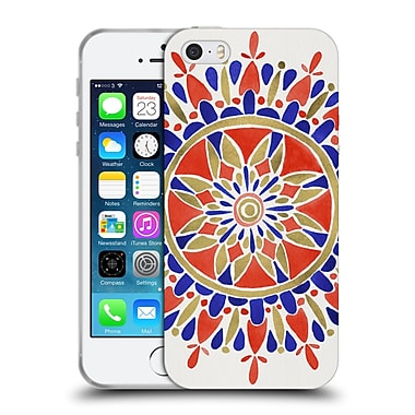 Official Cat Coquillette Mandala America Soft Gel Case For Apple Iphone 5 / 5S / Se