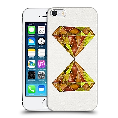 Official Cat Coquillette Watercoloured Gems Fire Opal Hard Back Case For Apple Iphone 5 / 5S / Se