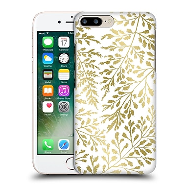 Official Caitlin Workman Organic Foliage Gold Hard Back Case For Apple Iphone 7 Plus
