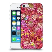 Official Celandine Tropical Pattern Stand Out Red Hard Back Case For Apple Iphone 5 / 5S / Se