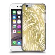 Official Caitlin Workman Patterns Marble Gold Hard Back Case For Apple Iphone 6 / 6S
