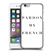 Official Caitlin Workman Typography Pardon My French Hard Back Case For Apple Iphone 6 / 6S