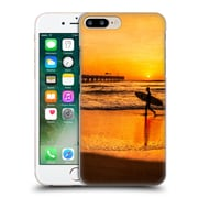Official Celebrate Life Gallery Beaches Surfer At Sunrise Hard Back Case For Apple Iphone 7 Plus