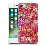 Official Celandine Tropical Pattern Stand Out Red Hard Back Case For Apple Iphone 7