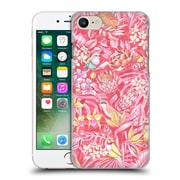 Official Celandine Tropical Pattern Stand Out Pink Pastel Hard Back Case For Apple Iphone 7