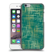 Official Caitlin Workman Patterns Cross Hatch Emerald Hard Back Case For Apple Iphone 6 / 6S