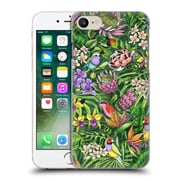 Official Celandine Tropical Pattern Stand Out Lime Hard Back Case For Apple Iphone 7
