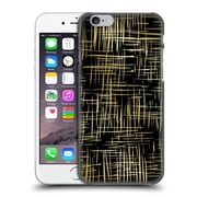 Official Caitlin Workman Patterns Cross Hatch Black Hard Back Case For Apple Iphone 6 / 6S