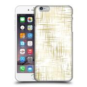 Official Caitlin Workman Patterns Cross Hatch Gold Hard Back Case For Apple Iphone 6 Plus / 6S Plus