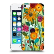 Official Carrie Schmitt Florals Sunflower House Hard Back Case For Apple Iphone 5 / 5S / Se