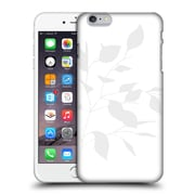 Official Caitlin Workman Organic Spring Leaf Grey White Hard Back Case For Apple Iphone 6 Plus / 6S Plus