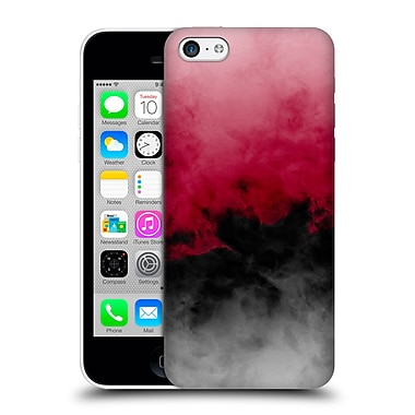 Official Caleb Troy Clouds Zero Visibility Crimson Hard Back Case For Apple Iphone 5C