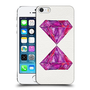 Official Cat Coquillette Watercoloured Gems Rhodolite Hard Back Case For Apple Iphone 5 / 5S / Se