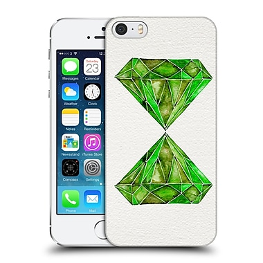Official Cat Coquillette Watercoloured Gems Peridot Hard Back Case For Apple Iphone 5 / 5S / Se