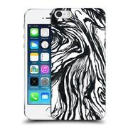 Official Caitlin Workman Patterns Marble Black Hard Back Case For Apple Iphone 5 / 5S / Se