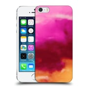 Official Caleb Troy Vivid Ruby Watercolour Hard Back Case For Apple Iphone 5 / 5S / Se