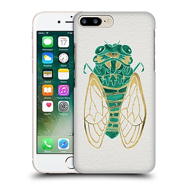 Official Cat Coquillette Insects Cicada Gold Green Hard Back Case For Apple Iphone 7 Plus
