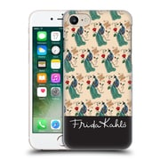 Official Frida Kahlo Peacock Pattern Hard Back Case For Apple Iphone 7