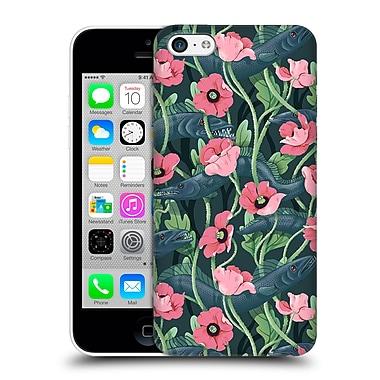 Official Celandine Wild Things Barracuda Dark Hard Back Case For Apple Iphone 5C