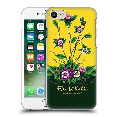 Official Frida Kahlo Purple Florals Shrub Hard Back Case For Apple Iphone 7