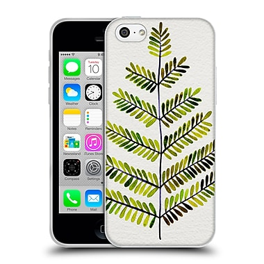 Official Cat Coquillette Nature Leaflets Green Soft Gel Case For Apple Iphone 5C