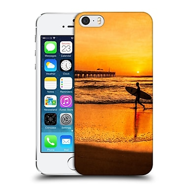 Official Celebrate Life Gallery Beaches Surfer At Sunrise Hard Back Case For Apple Iphone 5 / 5S / Se