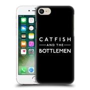 Official Catfish And The Bottlemen Key Art Logo Hard Back Case For Apple Iphone 7