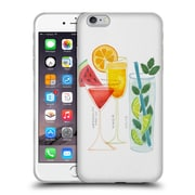 Official Cat Coquillette Mixed Drinks 3 Summer Drinks Soft Gel Case For Apple Iphone 6 Plus / 6S Plus