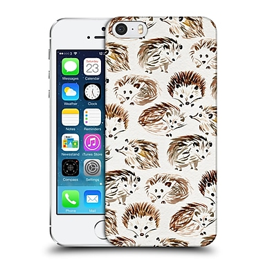 Official Cat Coquillette Animals Hedgehogs Hard Back Case For Apple Iphone 5 / 5S / Se