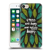 Official Cat Coquillette Quotes Typography 1 If Mama Ain'T Happy Black Green Hard Back Case For Apple Iphone 7