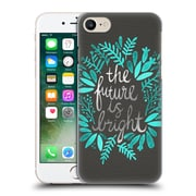 Official Cat Coquillette Quotes Typography 1 Future Is Bright Charcoal Hard Back Case For Apple Iphone 7