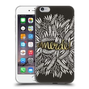 Official Cat Coquillette Quotes Typography 4 Merde Black Gold Soft Gel Case For Apple Iphone 6 Plus / 6S Plus