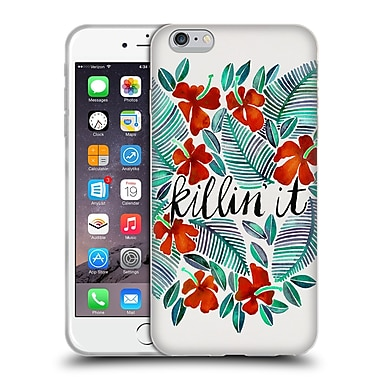 Official Cat Coquillette Quotes Typography 4 Killin' It Red Soft Gel Case For Apple Iphone 6 Plus / 6S Plus