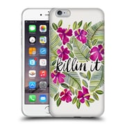 Official Cat Coquillette Quotes Typography 4 Killin' It Pink Soft Gel Case For Apple Iphone 6 Plus / 6S Plus