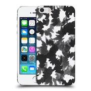 Official Caitlin Workman Black And White Watercolour Floral Hard Back Case For Apple Iphone 5 / 5S / Se