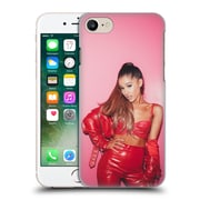 Official Ariana Grande Dangerous Woman Red Leather Hard Back Case For Apple Iphone 7