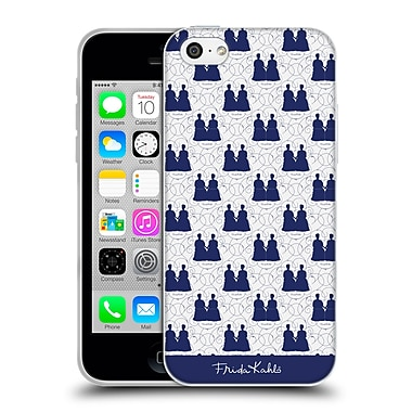 Official Frida Kahlo Self-Portraits Blue Pattern Soft Gel Case For Apple Iphone 5C