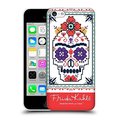 Official Frida Kahlo Coyoacan Patterns Sugar Skull Hard Back Case For Apple Iphone 5C
