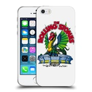Official The Rolling Stones Key Art Dragon Soft Gel Case For Apple Iphone 5 / 5S / Se
