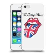 Official The Rolling Stones Key Art Uk Tongue Soft Gel Case For Apple Iphone 5 / 5S / Se