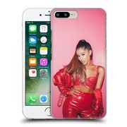 Official Ariana Grande Dangerous Woman Red Leather Hard Back Case For Apple Iphone 7 Plus