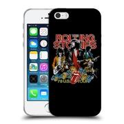 Official The Rolling Stones Key Art 78 Us Tour Vintage Soft Gel Case For Apple Iphone 5 / 5S / Se
